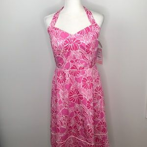 NWT Lilly Pulitzer Mallory Halter Neck Dress